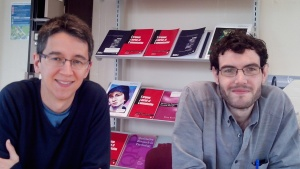 Fabio Ferraz de Almeida and Joe Ford, Loughborough University