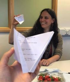 Marina + paper